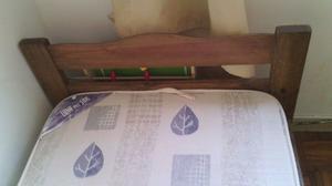 Cama de pino macizo más colchón. Oportunidad!