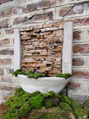 Cascadas con piedras naturales posot class - Fuentes y cascadas de agua para jardin ...