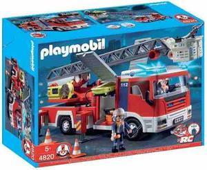 Playmobil  Camion Bomberos Con Luz - Jugueteria Aplausos