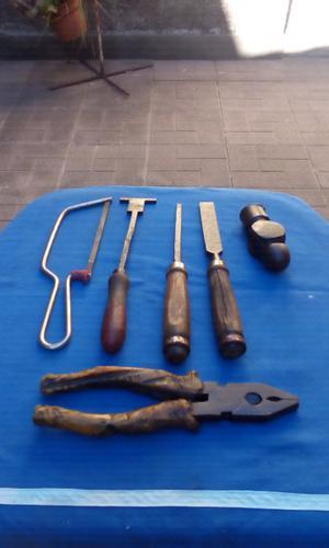 Vendo lote de 6 herramientas en buen estado
