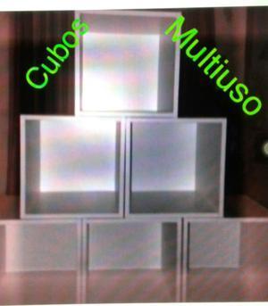 cubos funcionales. multiuso.