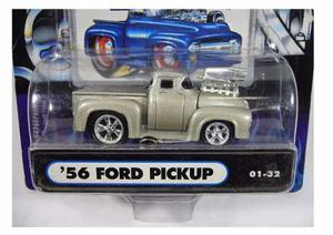 56 Ford Pickup Supercharger Muscle Machines Solo Envios