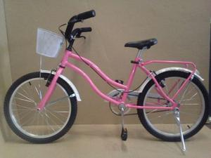 Bicicletas Playeras R 20 Nena Full Completa