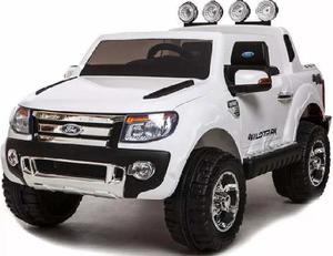 Camioneta Ford Ranger A Bateria 12 Volts Con Luces + R/c