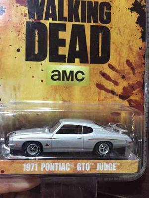 Greenlight Pontiac Gto Judge  The Walking Dead 1/64