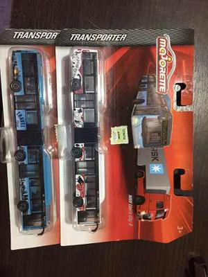 Majorette Transporter Man-lote Por 2 Unidaddes