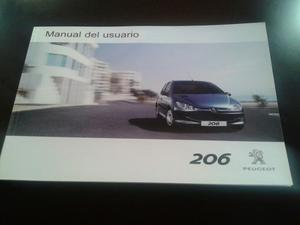 Manual De Usuario Guantera Peugeot 206