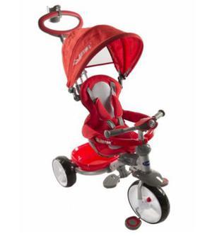 Triciclo Kiddy Astro 4 En 1 Rosa Negro Punto Bebe