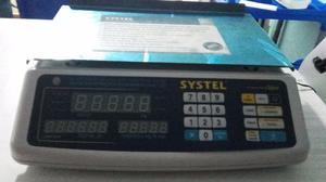 Vendo Balanza Digital Systel Clipse SEMINUEVA