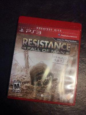 resistance fall of man original para ps3 nuevo sin uso