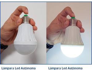 Lámpara De Emergencia Led Autónoma 9w