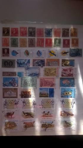 Lote 95 Estampillas De Argentina Todas Diferentes
