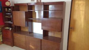 Modular macizo de madera