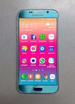Samsung Galaxy S6 color azul 32Gb. - Para Personal