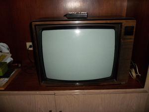 Televisor retro Grundig 21 pulgadas con control remoto