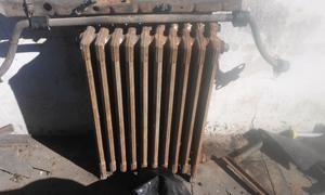 2 radiadores antiguos de funicion 10 elementos