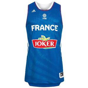 Camiseta De La Seleccion De Francia De Basket adidas Xl