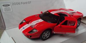 Ford Gt  - Auto A Escala 1/36 - Metal - 12 Cm.largo