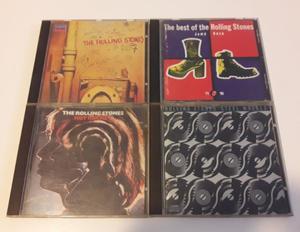 Lote de 4 CDs Originales de The Rolling Stones. Excelente