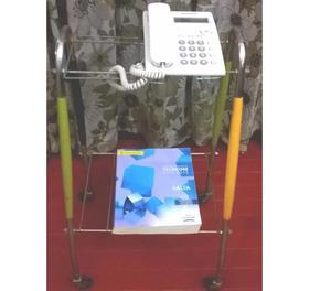 Mesa auxiliar para consultorio con ruedas posot class - Mesa auxiliar con ruedas ...