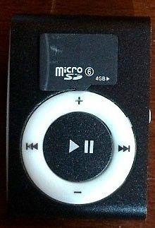 Mini mp3 pendrive con 4gb micro sd venta por mayor