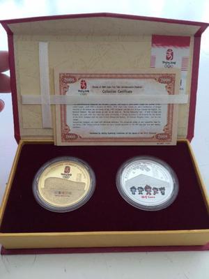 Monedas Conmemorativas Juegos Olímpicos Beijing