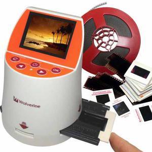Scanner Negativos Diapositivas Film 7 En 1 20 Mpixls