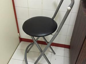 Banqueta alta para desayunador silla cajera2 posot class - Silla alta plegable ...