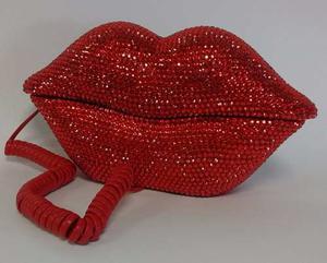 Telefono Con Forma De Beso Color Rojo - Local Olivos