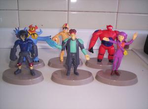Vendo coleccion completa de 6 muñecos diferentes de big