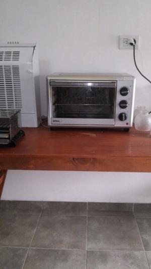 Vendo horno electrico atma acero inoxidable,