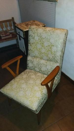 sillon escandinavo tapizado vinilico