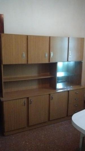 vendo modular de comedor o cocina roble claro impecable!