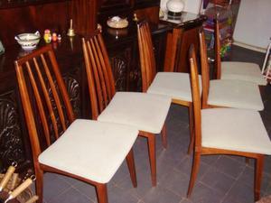 6 sillas a restaurar