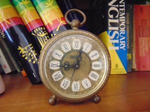 Antiguo Reloj despertador BLESSING, aleman.