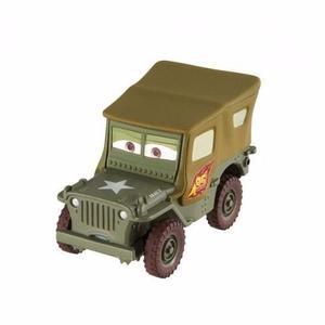 Autito Disney Cars 2 Sargento Original Mattel