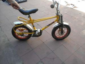 Bicicleta usada (Amarilla)