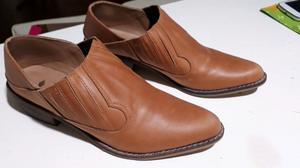 Botas corta de Cuero