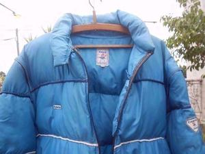 Campera De Abrigo Hombre Mangas Desmontable Celeste T 52