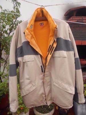 Campera De Abrigo Reversible Para Hombre Talle L
