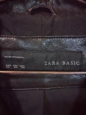 Campera Eco Cuero Zara
