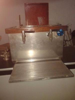 Chopera para dos barriles(cerveza) escocesa a hielo
