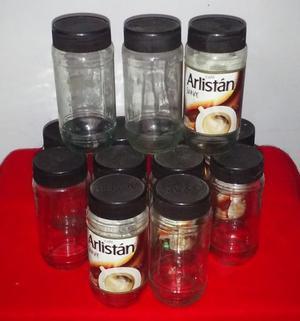Frascos De Vidrio Cafe Arlistan 170 Grs