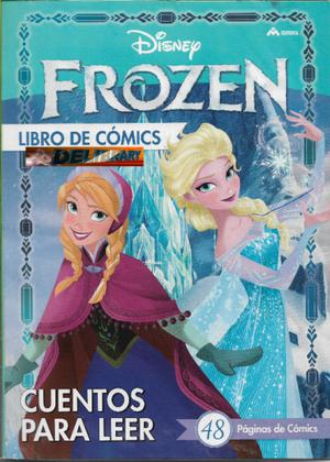 Frozen, libro de comics, ed. M4. El exito animado de Disney.