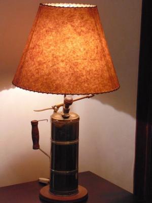LAMPARA antigua y moderna!!