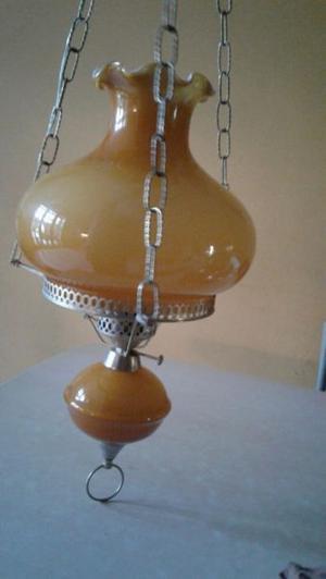 Lámpara colgante de estilo con TULIPA naranja