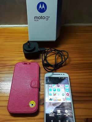 MOTOROLA G 4 PLUS 4G para PERSONAL, menos de 8 meses de uso!