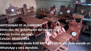 Mesa Living o Comedor de Algarrobo