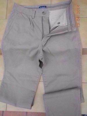 Pantalon Hombre Pinzado De Corderina - Talle 40