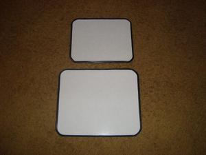 Pizarras Magneticas Blkancas Lisas De 20 X 25 Cm
